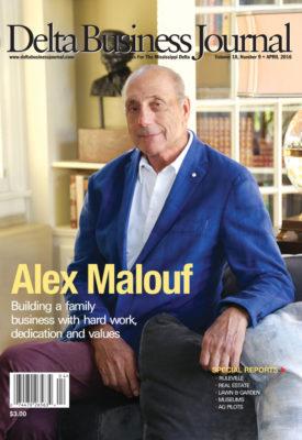 Alex  Malouf- Delta Business Journal