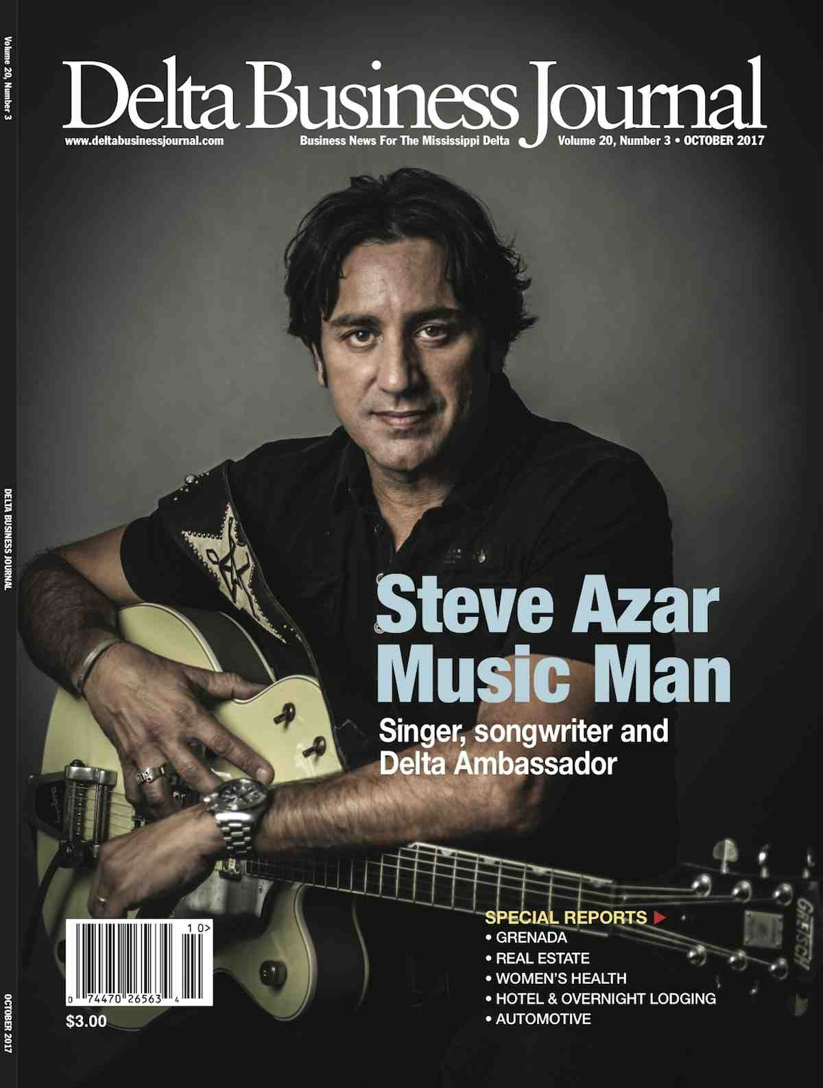 Steve Azar- Delta Business Journal