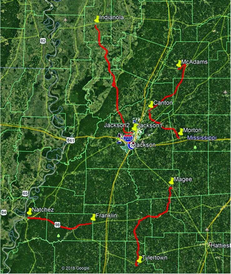 Rural Broadband map