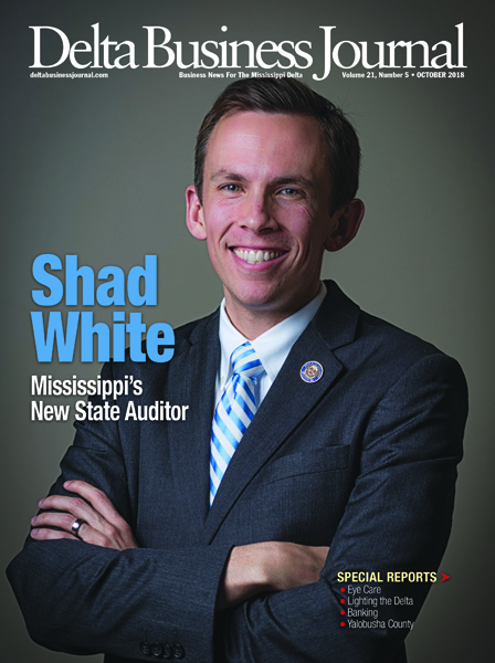Shad White  New State Auditor